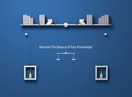 Maintain The Balance of Your Knowledge!