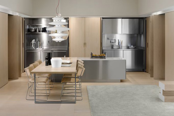 Mobili di design per cucine da Arclinea Milano