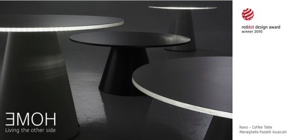 Nano, il coffee table di Meneghello Paolelli si aggiudica il Red Dot Design Award