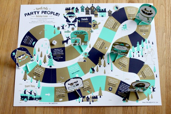 North Pole Party People Game