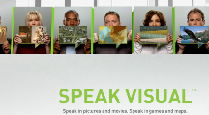 nvidia speak visual webdesign
