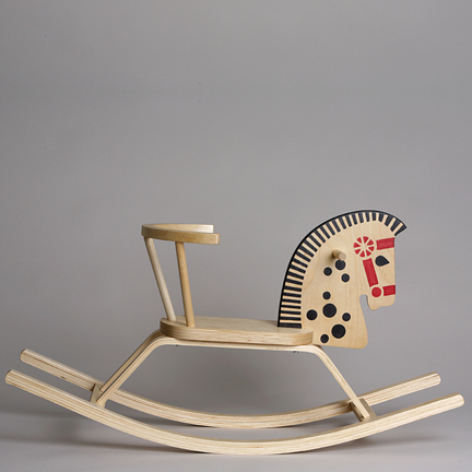 baltic rocking horse by pomme shop