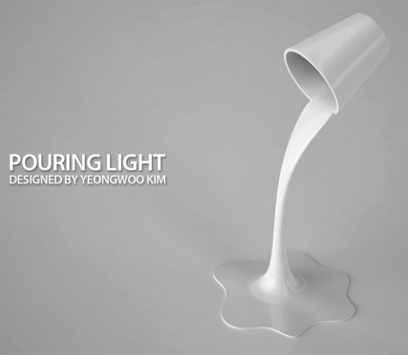 Pouring light