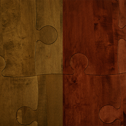 puzzle floors by Briggs Engineered Wood Products