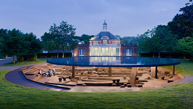 Serpentine Gallery Pavilion 2012 Designed by Herzog and de Meuron and Ai Weiwei Photograph Iwan Baan