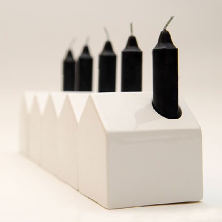 house candle holder by sonodesign