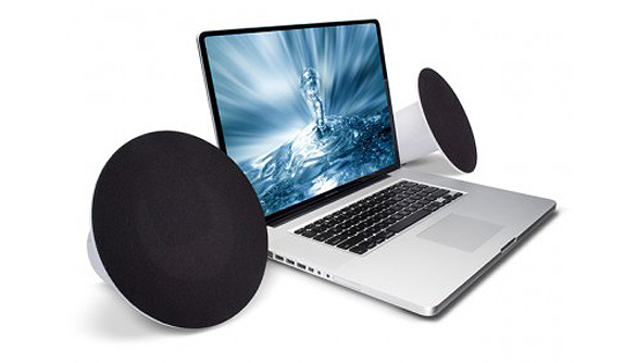 LaCie�s Sound² USB powered speakers