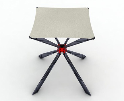 spider stool by ionut predescu