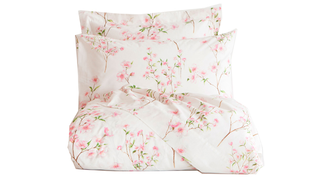 Stile country provenzale - Zara Home - lenzuola Stampa floreale