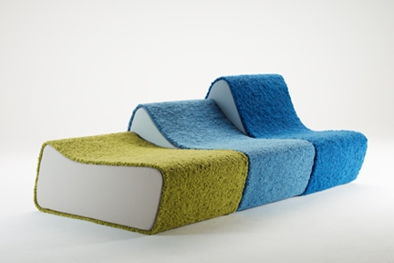 Surfer Sofa by Pudelskern Space Agency