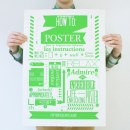 The How To Project i poster sul come fare di Mike Arnold