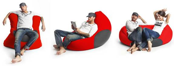 X Five, pouf Made in Italy