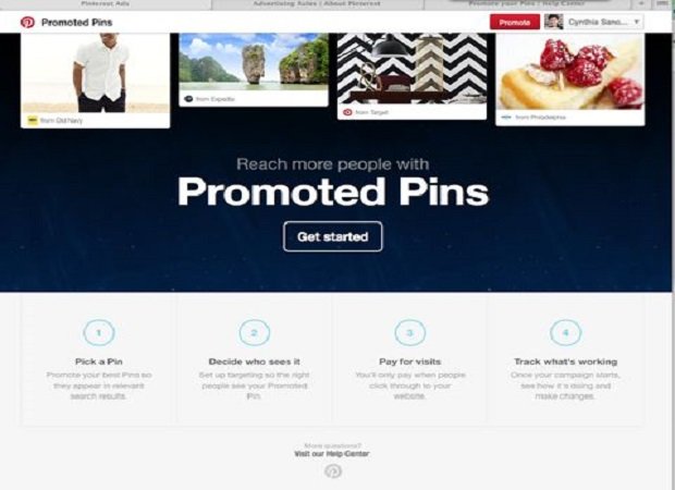 Pinterest Pin Promoted