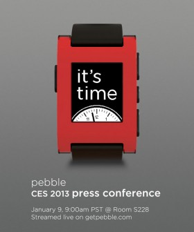 Lo smartwatch Pebble sarà al CES 2013