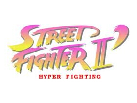 Logo di Street Fighter II: Hyper Fighting