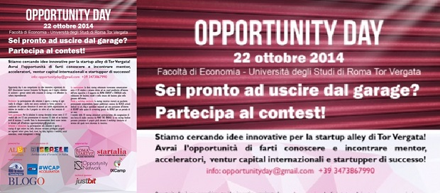 opportunity day locandina