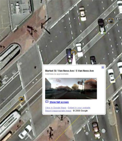 Street View in Google Earth
