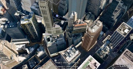 New York spettacolare su Google Earth