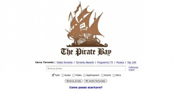 The Pirate Bay nuovo ip