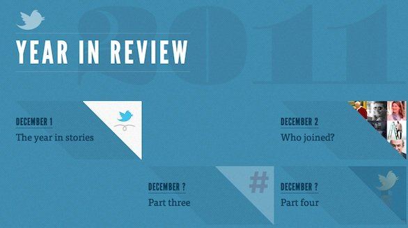 Twitter Year In Review 2011