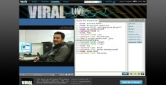 Viral live,new channel by ustream and veoh