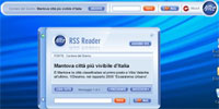 Alice distribuisce il suo reader RSS
