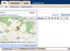 Geotagging in Blogger
