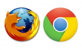 Chrome e Firefox