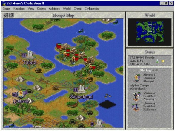 Civilization 2 screenshot