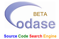 Codase: source code search engine