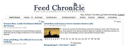 Feed Chronicle: crea il tuo quotidiano online