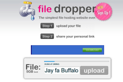 file dropper condivisione grandi file hosting