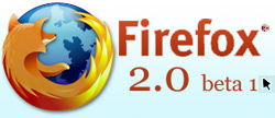 firefox 2 beta 1 download page