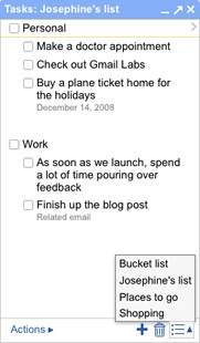 gmail to-do list