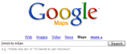 Google Maps output testuale in html