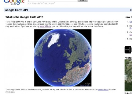 Google Earth API