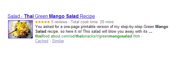 Google - Rich Snippets