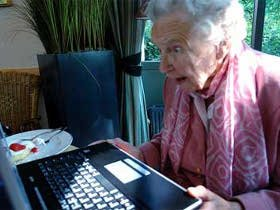 Grandmother On The Web