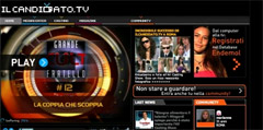 Il candidato.tv, social network sui reality show
