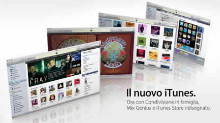 Apple: iTunes 9 disponibile per il download