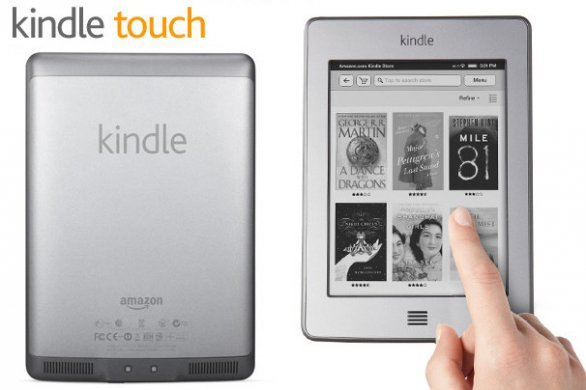 Kindle Touch a fine aprile in Europa