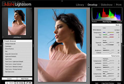 Nuova versione beta 4 per Adobe Lightroom, software per fotografia