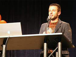 Marco Rosella vince al SXSW come miglior CSS - Photo by LaughingSquid