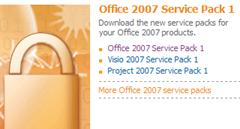 Office 2007 Service Pack 1 office2007sp1