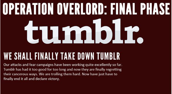 Operation Overlord: Final Phase, Tumblr