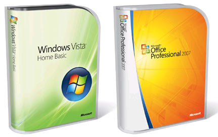 Nuovi package per Windows Vista e Office 2007
