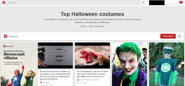Top Halloween Costumes su Pinterest