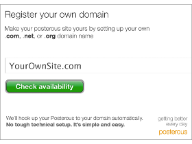 Posterous Custom Domains