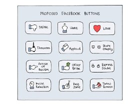 Proposed Facebook Buttons