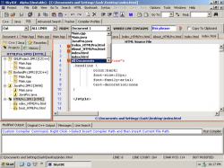 skyide, un IDE freeware per windows multilinguaggio